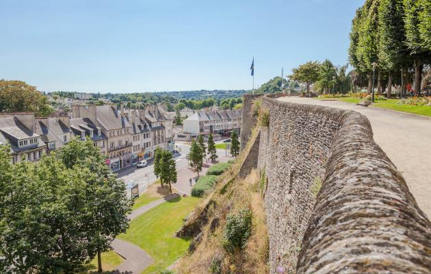 Les remparts de Saint-Lô ©Anibas Photography