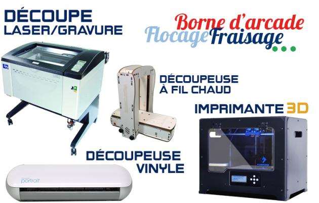 Les machines du FABLAB